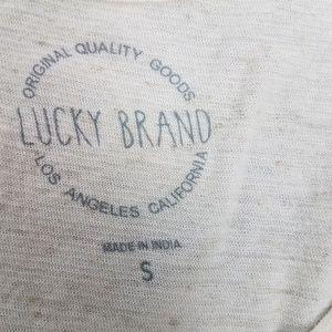 Lucky Brand Tops - Lucky Brand Sleeveless Top Sz S Cream G3